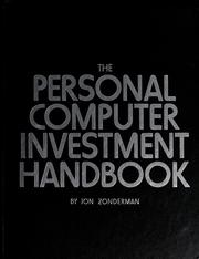 Cover of: The personal computer investment handbook