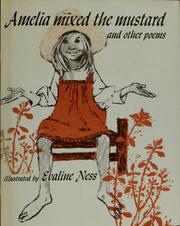 Cover of: Amelia mixed the mustard and other poems