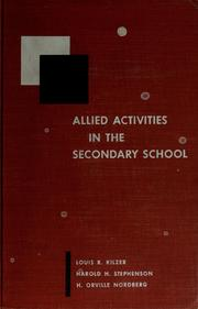 Cover of: Allied activities in the secondary school