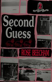 Cover of: Second guess