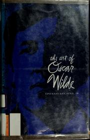 Cover of: The art of Oscar Wilde
