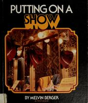 Cover of: Putting on a show