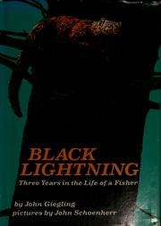 Cover of: Black lightning | John A. Giegling
