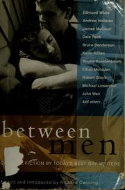 Cover of: Between Men: Best New Gay Fiction