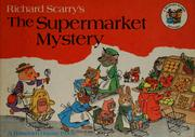 Cover of: The supermarket mystery