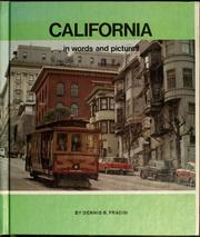 Cover of: California in words and pictures