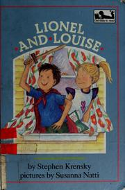 Cover of: Lionel and Louise | Stephen Krensky