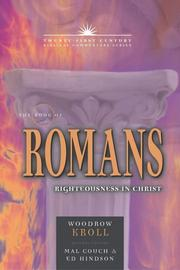 Cover of: The Book of Romans