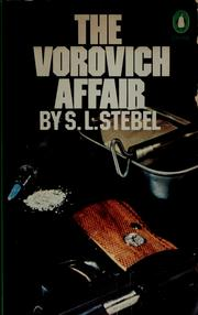 Cover of: The Vorovich affair | S. L. Stebel