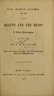 Cover of: Beauty and the beast ...