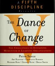 Cover of: The dance of change | Peter M. Senge