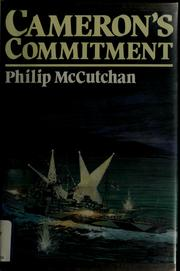 Cover of: Cameron's commitment