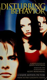 Cover of: Disturbing behavior
