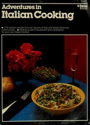 Cover of: Adventures in Italian cooking