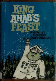 Cover of: King Ahab's feast