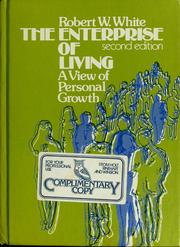 Cover of: The enterprise of living