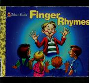 Cover of: Finger rhymes
