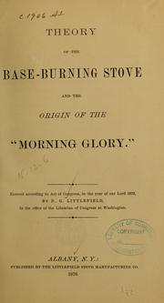 Cover of: The morning glory