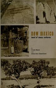 New Mexico, land of many cultures by Frank Driver Reeve