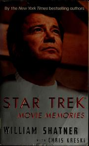 Cover of: Star Trek Movie Memories