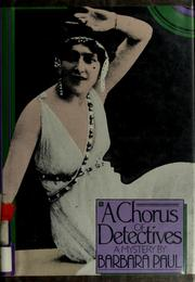 Cover of: A chorus of detectives