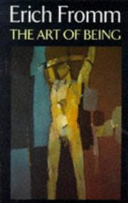 Cover of: The Art of Being (Psychology/self-help)