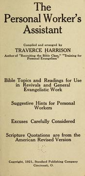 Cover of: The personal worker's assistant