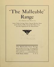 "Cover of: ""The malleable"" range..."