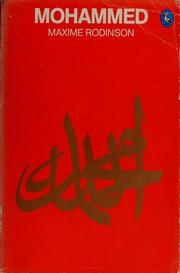 Cover of: Mohammed | Maxime Rodinson