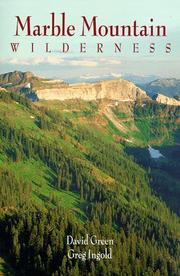 Cover of: Marble Mountain Wilderness