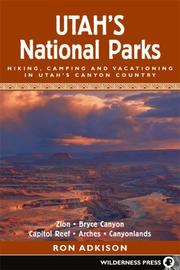 Cover of: Utah's national parks