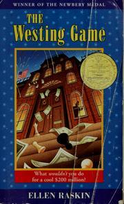 The westing game book by ellen raskin