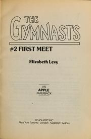 Cover of: First Meet