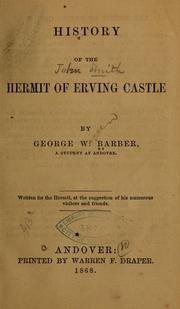 Cover of: History of the hermit of Erving Castle