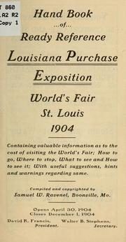 Cover of: Hand book of ready reference Louisiana purchase exposition