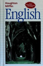 Cover of: English