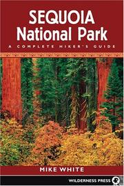 Cover of: Sequoia National Park