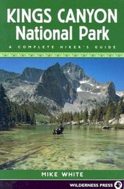 Cover of: Kings Canyon National Park