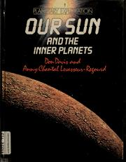 Cover of: Our sun and the inner planets