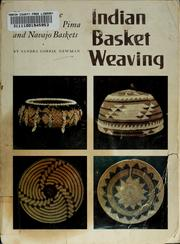 Cover of: Indian basket weaving