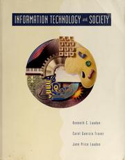 Cover of: Information technology and society
