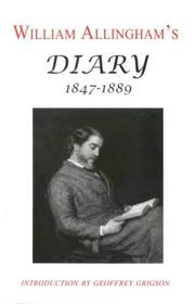 Cover of: Diary 1847-1889