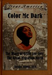Cover of: Color me dark