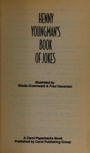 Cover of: Henny Youngman's Book of Jokes