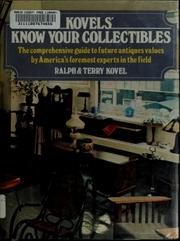 Cover of: Kovel's Know your collectibles