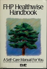 Cover of: Healthwise Handbook a Self Care Manual