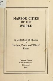 Cover of: Harbor cities of the world