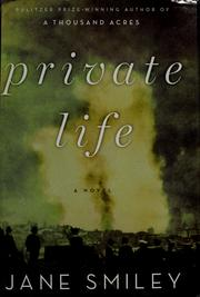 Cover of: Private life: a novel