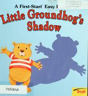 Cover of: Little Groundhog's shadow