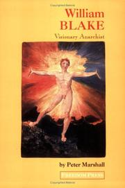 Cover of: William Blake: Visionary Anarchist